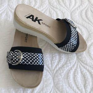 ☀️Anne Klein Wedge Sandals Clogs
